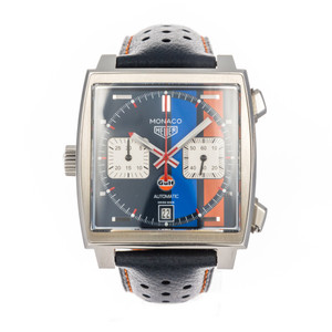 TAG Heuer Monaco x Gulf *Box and Papers*