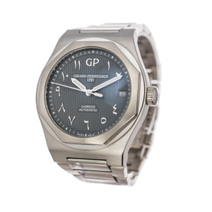 Girard-Perregaux Laureato 42 *Arabic Dial* *Limited Edition* *Box and Papers*