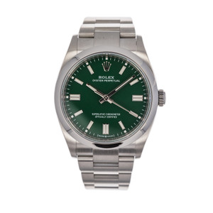 Rolex Oyster Perpetual 36 126000 *UNWORN* *Green Dial*