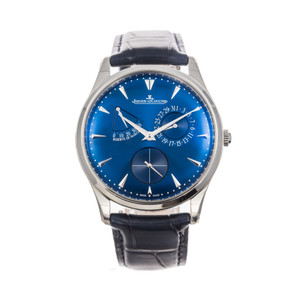 Jaeger-LeCoultre Master Ultra Thin Power Reserve *UNWORN* *2020* *Blue Dial*