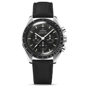 New Omega Speedmaster Moonwatch Professional Co-Axial Hesalite on Strap