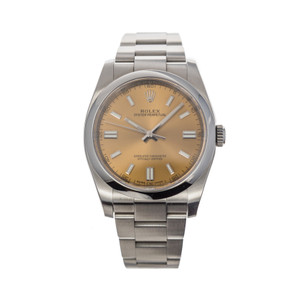 Rolex Oyster Perpetual 36mm 116000 'White Grape Dial' *2019*