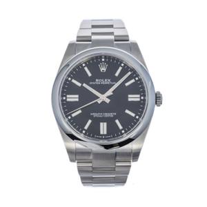 Rolex Oyster Perpetual 41 124300 *UNWORN* *2021* *Black Dial*
