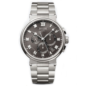 New Breguet Marine Chronograph Titanium on Bracelet