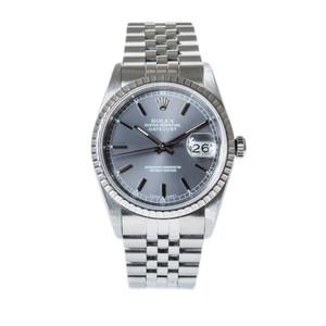 Rolex Datejust Ref. 16220 *Slate Sunburst Dial*
