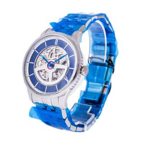 Perrelet Classique Double Rotor Squelette *UNWORN* *Blue Dial*