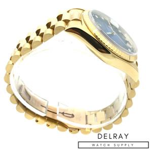 Rolex Day Date Blue Vignette Dial