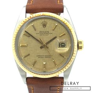 Rolex Datejust 1601 Linen Dial