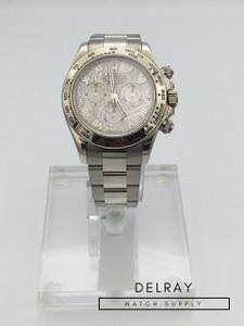 Rolex Daytona White Gold Meteorite Dial 116509