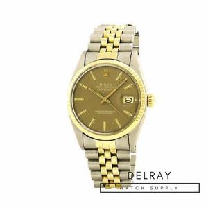 Rolex Datejust 16013 Brown Dial
