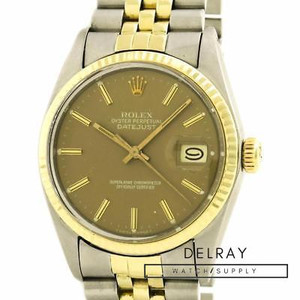 Rolex Datejust 16013 Brown Dial
