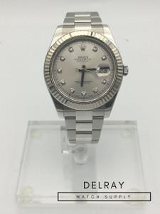 Rolex Datejust II 116334 Diamond Dial
