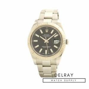 Rolex Datejust II 116334 Black Dial