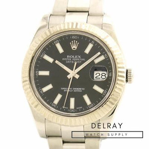 Rolex Datejust II 116334 Black Dial
