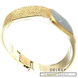 Patek Philippe Golden Ellipse 3566 Blue Dial