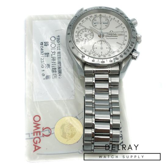 Omega Speedmaster Triple Calendar Silver Dial