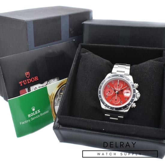 Tudor Tiger Prince Chronograph Red Dial 79260P