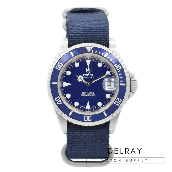 Vintage Tudor Submariner 79190 Blue Dial