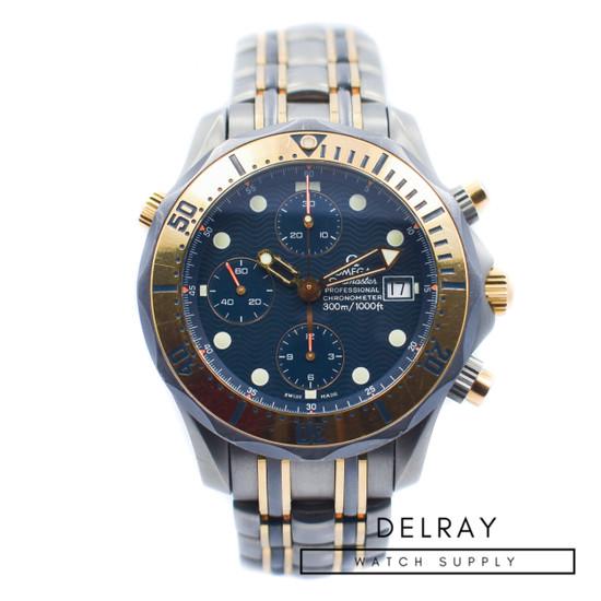 Omega Seamaster Professional Chronograph Titanium and Gold