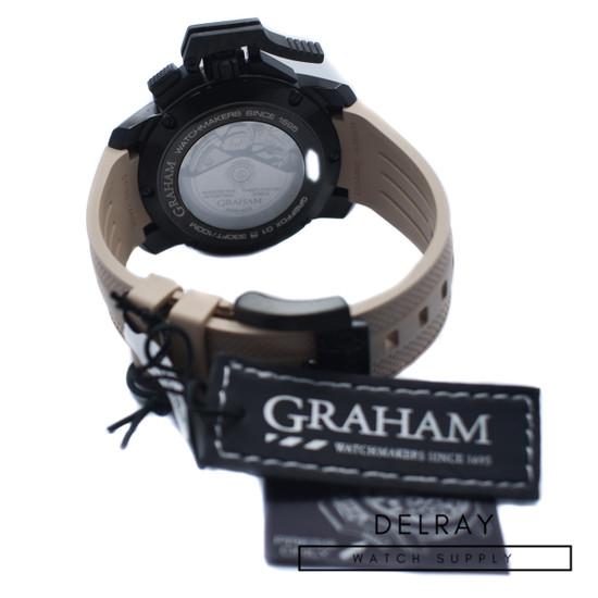 Graham Chronofighter Oversize Black Arrow *UNWORN*