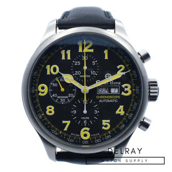 Ernst Benz Chronoscope Chronograph Black Dial