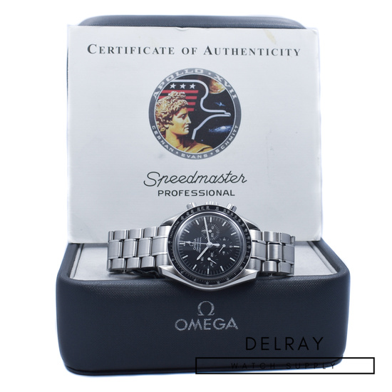 "Omega Speedmaster Apollo XVII ""Last Man On The Moon"" *Limited Edition*"