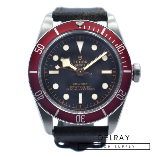 Tudor Black Bay On Strap *2018 Warranty Card*