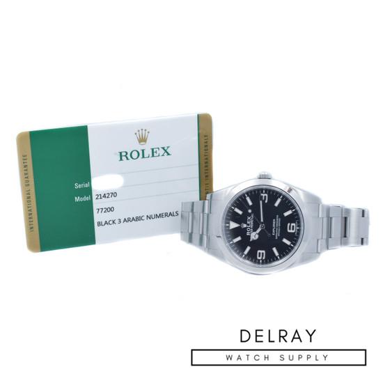 Rolex Explorer 214270 MKII Dial