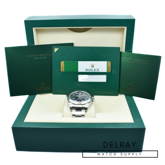 Rolex Air King 116900 *2019 Box and Papers*