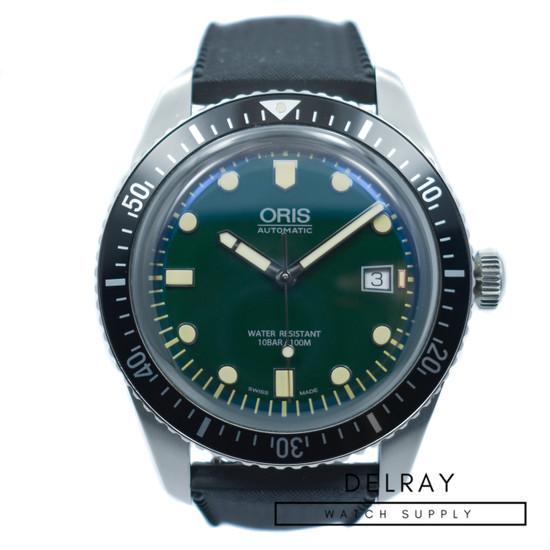 Oris Diver Sixty-Five Green Dial