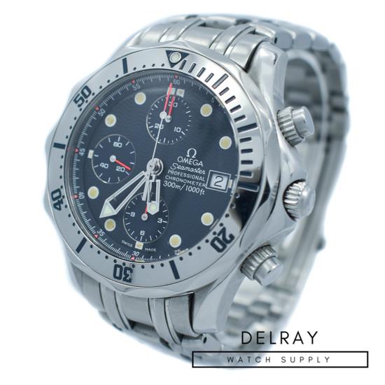 Omega Seamaster Professional Chronograph Silver Bezel
