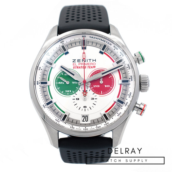 Zenith El Primero Sport Stratos Team *UNWORN* *Limited Edition* *ON SPECIAL*