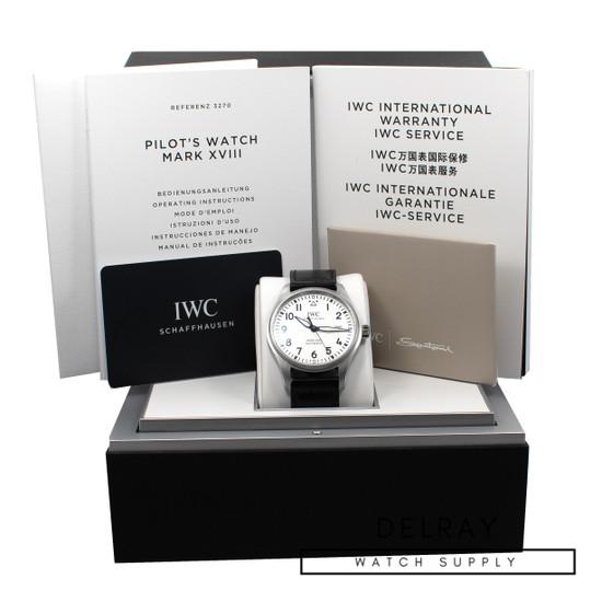 IWC Mark XVIII White Dial *2019* *ON SPECIAL*
