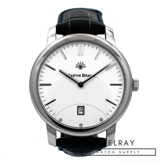 Martin Braun Classic II Silver Dial *UNWORN*