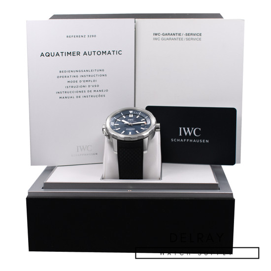 IWC Aquatimer Jacques Cousteau Blue Dial *Limited Edition*