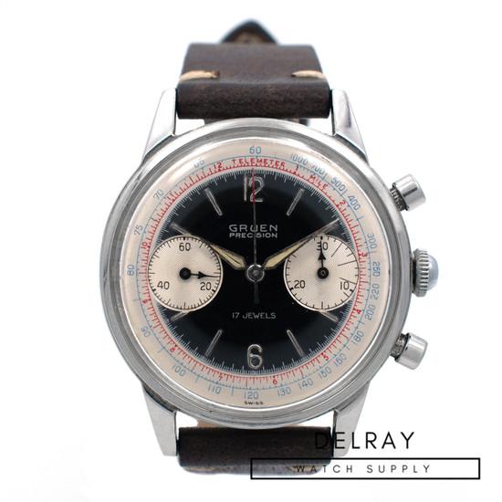 Vintage Gruen Precision Chronograph