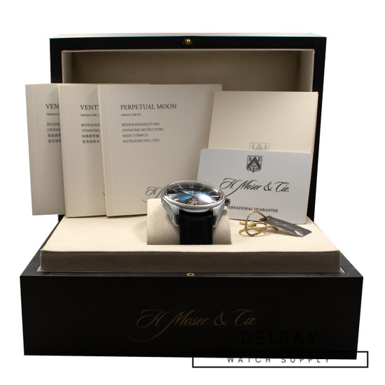 H. Moser Pioneer Tourbillon Blue Dial *Limited Edition* *UNWORN* *ON SPECIAL*