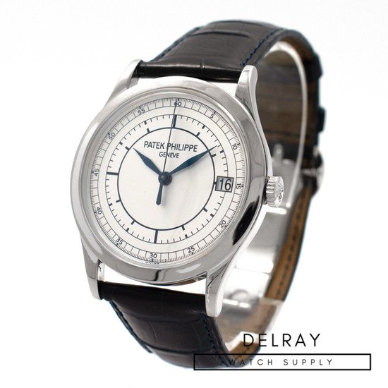 Patek Philippe Calatrava 5296G Sector Dial *With Deployant Buckle* *ON HOLD*