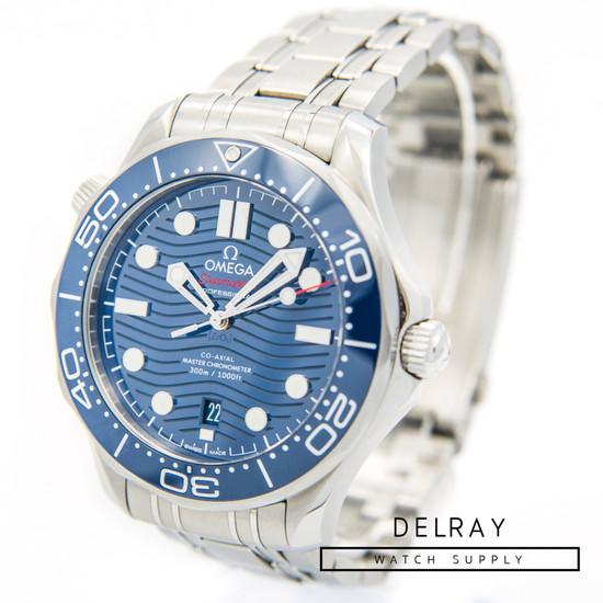Omega Seamaster Professional Ceramic Wave Blue Dial