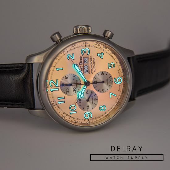 Ernst Benz Chronoscope Chronograph Salmon Dial