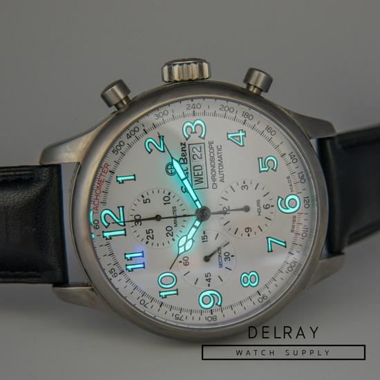 Ernst Benz Chronoscope Chronograph White