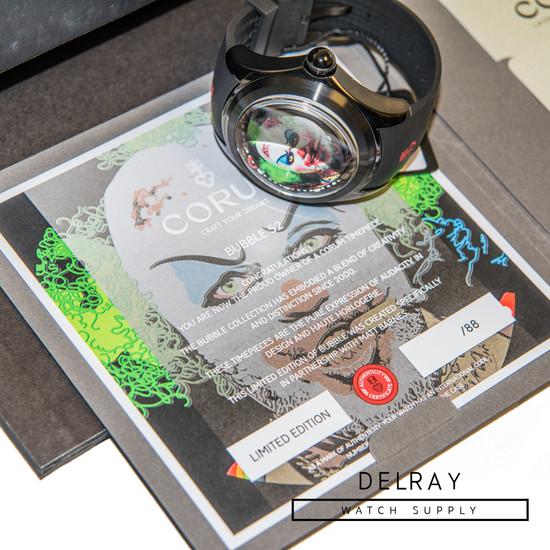 Corum Big Bubble 52 Magical Matt Barnes *Limited Edition* *UNWORN*