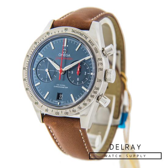 Omega Speedmaster 57 Co-Axial Blue Dial *UNWORN*