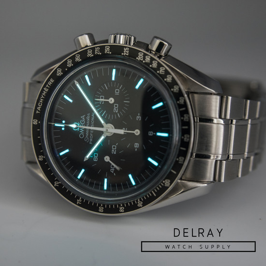 Omega Speedmaster Hesalite Display Back