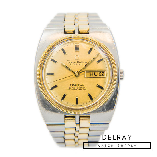 Vintage Omega Constellation Two Tone
