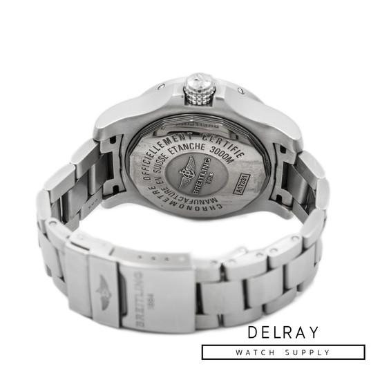 Breitling Avenger II Seawolf on Bracelet