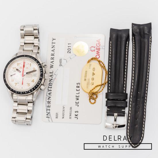 Omega Speedmaster Date White Dial