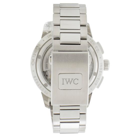 IWC Ingenieur Chronograph White Dial