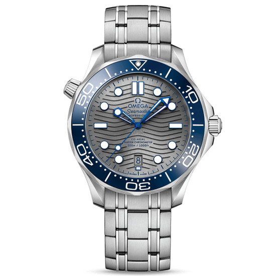 New Omega Seamaster Automatic Grey Dial