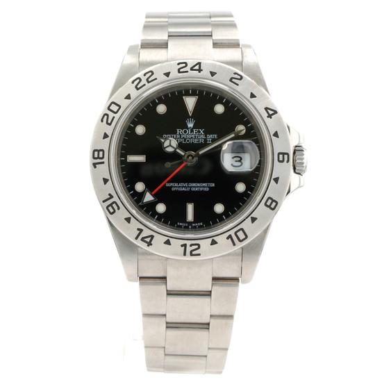 Rolex Explorer II 16570 Black